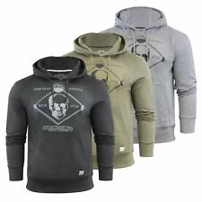 Firetrap Manotic Mens Hoodie Printed Graphic Pull Over Hooded Sweater