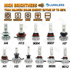 PHILIPS LED 80W 8000LM Headlight H1 H3 H4 H7 H11 H13 9005 9006 9004 9012 9007