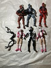 Hasbro Marvel Legends Deadpool X-Men Lot Back In Black Classic Gwenpool X-Force