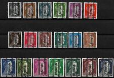 Österreich MiNr 674 bis 692 postfrisch paar geprüft Hitler Schwärzung Steiermark