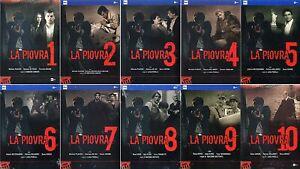 La Piovra Stagioni 1-10 Cofanetti Singoli (9 DVD) - ITALIANI ORIGINALI SIGILLATI