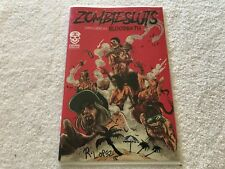 ZOMBIE SLUTS SPRING BREAK BLOOD BATH  1 Signed  R. LOPEZ  Crude  comic book