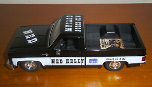 Custom Ned Kelly Outlaw 1:24 scale 1985 chevrolet chevy C-10 ute new boxed