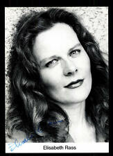 Elisabeth Rass Autogrammkarte Original Signiert # BC 57922