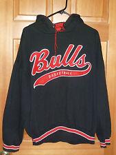 Vintage CHICAGO BULLS Hoodie STARTER Hooded Sweatshirt '90s Mens Large VTG