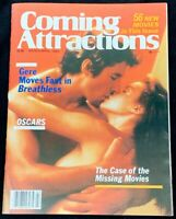 Coming Attractions Movie Magazine March 1983 Richard Gere in Breathless Oscars