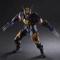 Marvel Hero X-MEN Wolverine Logan Action Figure Model Toys 26cm XMEN