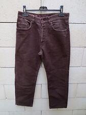 Jeans MARLBORO CLASSICS Pasadena 301 marron pantalon W 31