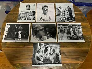 Joe Torre 8x10 press photos (13) The Sporting News TSN Mets Braves Cardinals