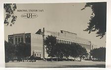 Vintage 1950's University Of Illinois Memorial Stadium RPPC Real Photo Postcard