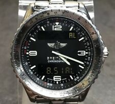 BREITLING CHRONOSPACE Stainless Steel Quartz Watch A56012.1 8244