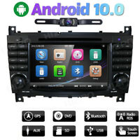 For Mercedes Benz W203 C200 C230 G-W463 CLK Radio DVD GPS Navi Car Stereo 7 Inch