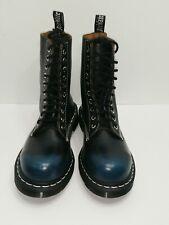 New Rare Womens 6 Mens 5 Doc Dr. Martens 1919 Blue 10 Eye Boot Fashion Steel Toe