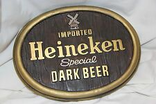 Imported Heineken Special Dark Beer Man Cave sign