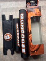 NOS Mongoose Bmx 3 Piece Pad Set Old School Bmx Mid School