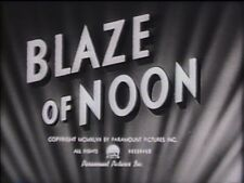 BLAZE OF NOON 1947 (DVD) ANNE BAXTER, WILLIAM HOLDEN