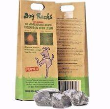 Perro Rocas - 200g Pack detener la orina del animal doméstico marca hierba Piedra Roca Tazón de fuente de alimentación de agua bloque