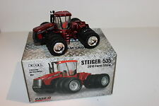 Ertl 1/64 Case IH Steiger 535 Chrome Chaser 2010 Farm Progress Show Tractor NIB