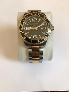 Longines Hydroconquest Two Tone Stainless Steel Men's Quartz Watch