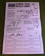 VINTAGE ACTION MAN 40th MANUAL LEAFLET HANDS THAT REALLY GRIP L.575
