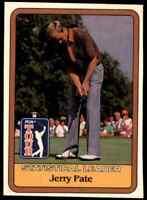 1981 DONRUSS GOLF PGA TOUR STATISTICAL LEADER JERRY PATE #NNO