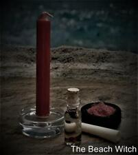 LOVE SPELL KIT w/ Magickal Flash Paper Potion Incense Candle ~Wicca Witchcraft