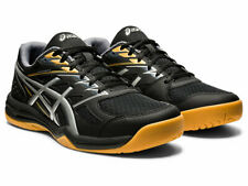 Asics UPCOURT 4 Men's 1071A053.001 BLACK/SILVER Volleyball/Indoor Court Shoes