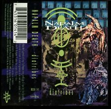 Napalm Death ‎- Diatribes - Cassette Tape - SEALED - NEW COPY - Grindcore/Thrash