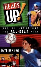 Heads Up! Sports Devotion for All-Star Kids Branon, David Free Shipping