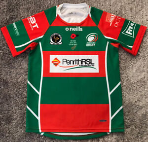 068 #11 Penrith RSL Rugby Union Players Jersey Australia Youth Age 13 VGC