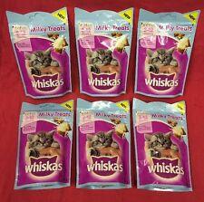 Whiskas Kitten Milky Treats 6x 55g Rich In Milk Supports Bones 8+ Wk Old Calcium