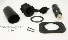 Lighter Accessory Marine Grade Waterproof Socket & Locking Plug,12 Volt USA