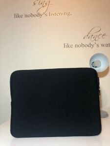 "Rainyear Black Memory Foam Laptop Sleeve Case! Size 14""!New! Only £16,90!"