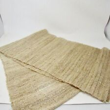 Rustic Table Runner Linen or other rough Fiber natural Farm House Minimalist