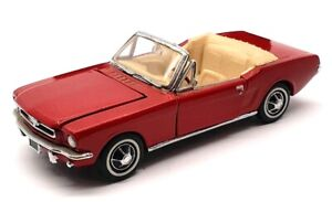 Franklin Mint 1/43 Scale 11321A - 1964 Ford Mustang Convertible - Red