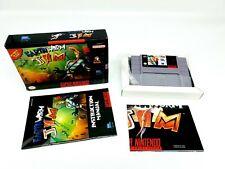 Super Nintendo / SNES Earthworm Jim [USA] Complete ► Poster Inc.◄