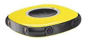 VUZE 3D 360 Spherical VR 4K Camera (Yellow) VUZE-1-YLW