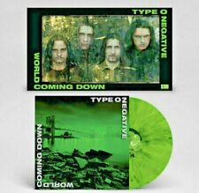 TYPE O NEGATIVE World Coming Down 2LP GREEN BLACK VINYL NEW SEALED LIMITED /7500