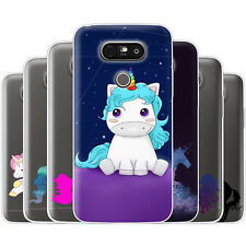 Dessana Unicorn TPU Silicone Protective Cover Phone Case Cover For LG