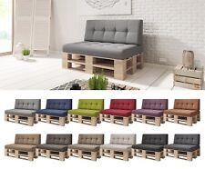 2er Set / Einzelkissen Palettenkissen Kaltschaum Palettenauflage Lounge 120x80
