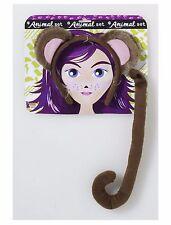 Monkey Animal Kit Set Adult Costume Accessory, One Size