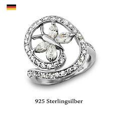 Runde Echtschmuck Ringe im Statement-Stil für Damen