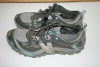 The North Face Women's Hiking Shoes Size 9 Gray Blue Hydro Track Low Top