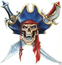 PIRATE SKULL STICKER / DECAL