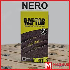 U-Pol Raptor Kit Vernice Protettiva bedliner 1L - NERO
