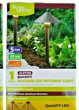 Better Homes & Gardens QuickFIT LED Alston Hooded Pathway Light New in Box