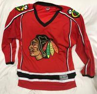 Chicago Blackhawks NHL Team Apparel Jersey Mens Size Large
