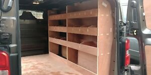 Peugeot EXPERT MWB ( 2016 >) Van Racking, Plywood Shelving, Storage