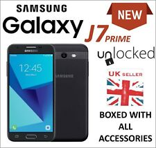 New Samsung Galaxy J7 Prime Mobile Phone Unlocked 16GB BLACK UK Seller 4G LTE J