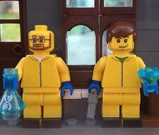 Lego Custom Minifigures Breaking Bad Jesse and Walter
